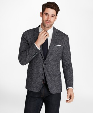 Brooks Brothers Regent Fit Check Knit Sport Coat
