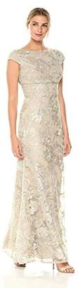 JS Collections Women's Cap Sleeve Lace Dress