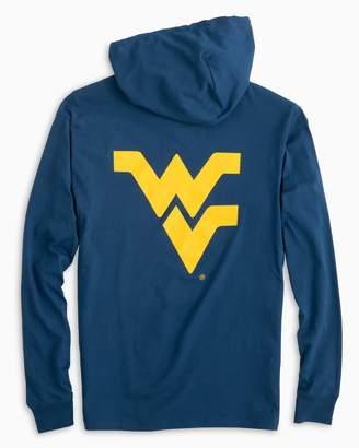 Southern Tide Gameday Skipjack Hoodie T-shirt - West Virginia University