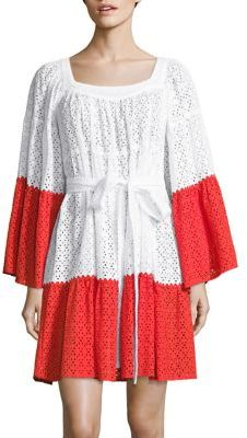 Lisa Marie Fernandez Short Peasant Dress $375 thestylecure.com