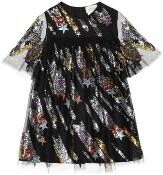 Gucci Kids Sequined tulle dress