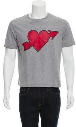 Ami Alexandre Mattiussi Lovestruck Graphic T-Shirt