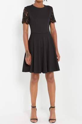Soprano Black Lace Dress