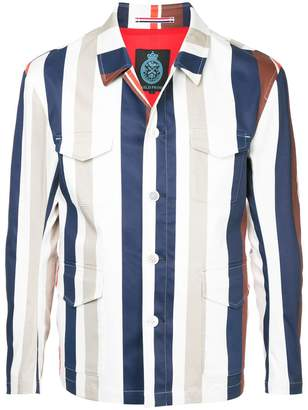 GUILD PRIME striped jacket