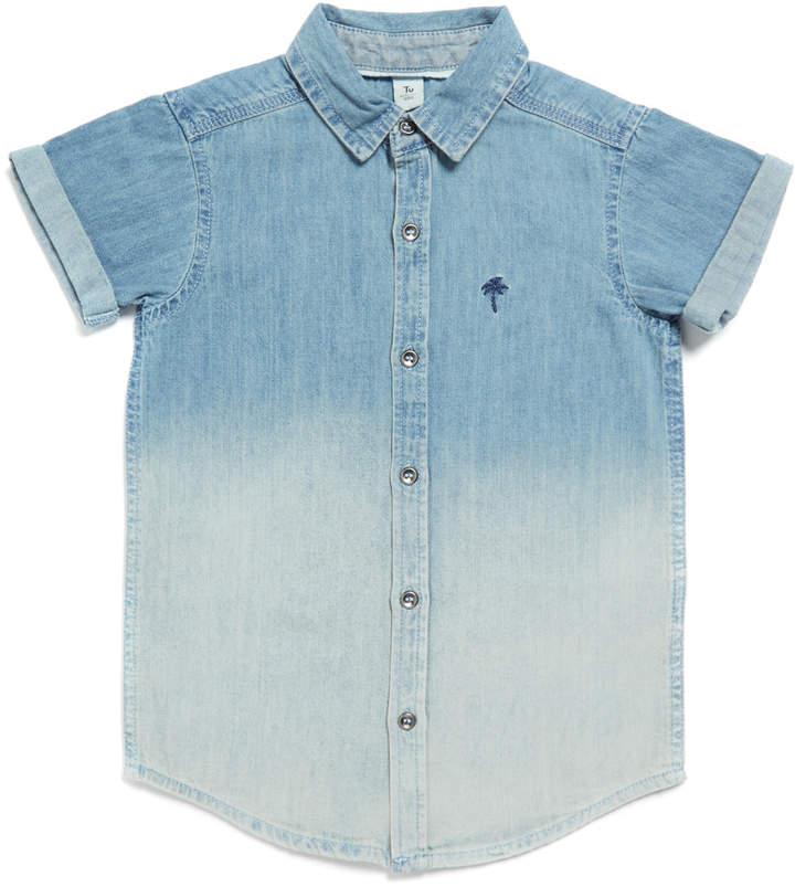 Tu Clothing Denim Ombre Shirt