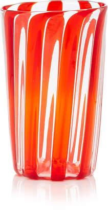 Murano LagunaB Exclusive Set-of-Four Berlingot Striped Glasses