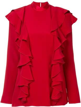 ADAM by Adam Lippes ruffle front blouse