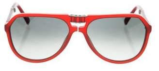 Dolce & Gabbana Folding Logo Sunglasses