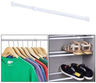 At Walmart Aramox Adjustable Spring Loaded Tension Rod Shower Extendable Curtain Closet Window Rail Pole