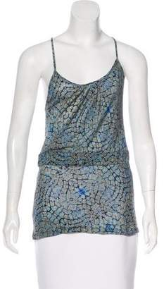 CNC Costume National Sleeveless Printed Top