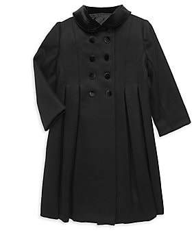 Isabel Garreton Little Girl's New York Wool Coat