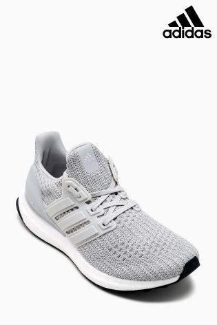 Boys adidas Grey UltraBoost - Grey