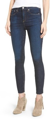 Women's Rag & Bone/jean High Waist Skinny Ankle Jeans $198 thestylecure.com