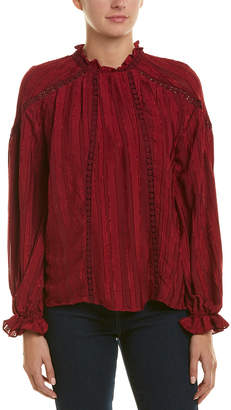 Moon River Pleated Top