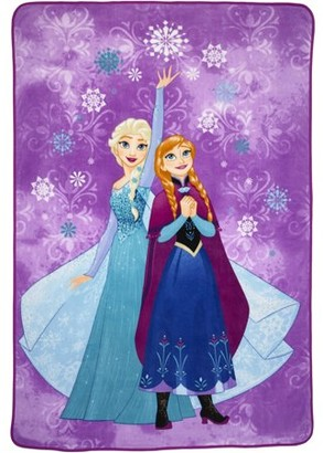 "Disney Frozen Icy Magic Kids Plush 62"" x 90"" Blanket, 1 Each"