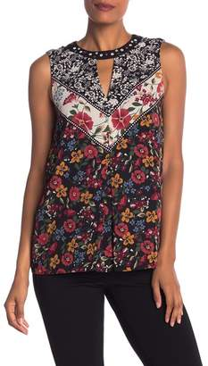 Laundry by Shelli Segal Print Novelty Blouse