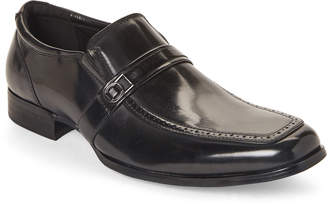 Kenneth Cole Unlisted By Black Pat On The Back Brogue Loafers