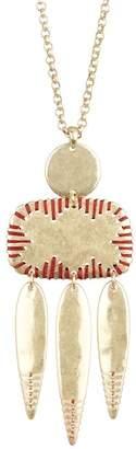 Lucky Brand Threaded Pendant Necklace