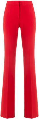 Moschino high waisted wide leg trousers