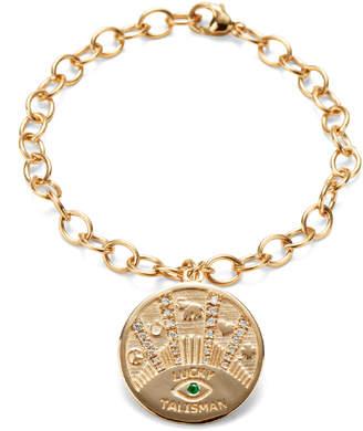 Marlo Laz Talisman Coin Bracelet