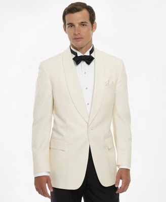 Brooks Brothers White Dinner Jacket