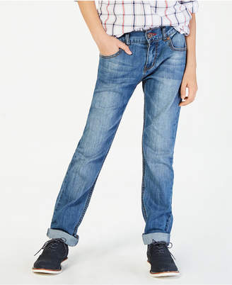 Tommy Hilfiger Regular-Fit Stone Blue Jeans, Big Boys