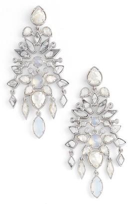 Women's Kendra Scott Aryssa Statement Earrings $195 thestylecure.com