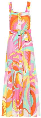 Emilio Pucci Beach Printed maxi dress