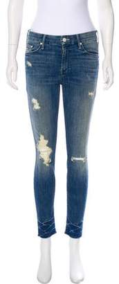 Mother Mid-Rise Skinny Jeans
