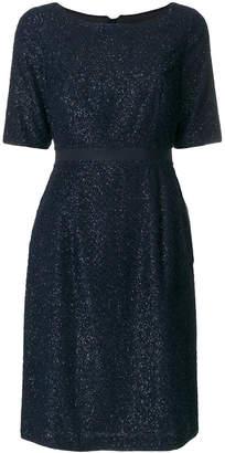 Steffen Schraut metallic fibre dress