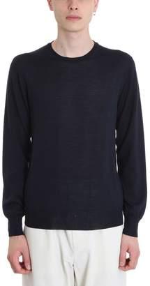 Jil Sander Blue Wool Sweater