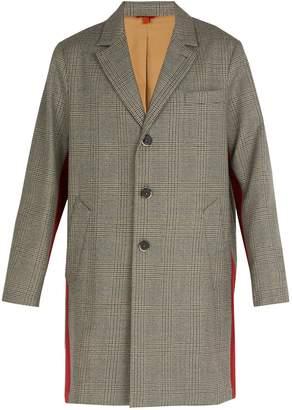 Barena VENEZIA Prince of Wales-checked wool overcoat