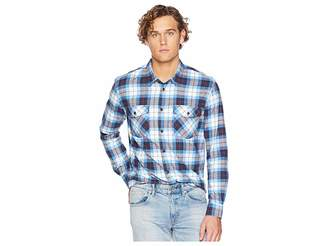 Quiksilver Waterman Wade Creek Long Sleeve Flannel Shirt
