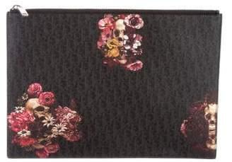 Christian Dior Saffiano Leather Document Holder