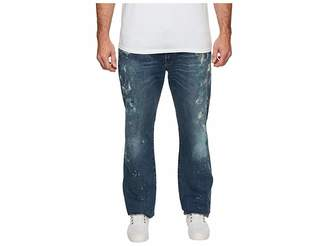 Polo Ralph Lauren Big Tall Hampton Relaxed Straight Jean in Sawyer Paint Spatter Men's Jeans