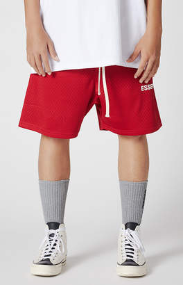 Fear Of God Fog Essentials Graphic Mesh Drawstring Shorts