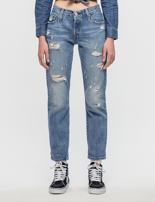 Levi's 501CT Radio Star Jeans $115 thestylecure.com