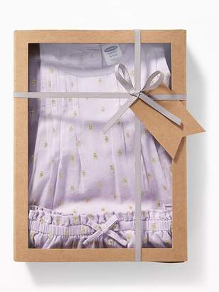 Old Navy Sleeveless Pintucked Top & Bloomers Gift Set for Baby