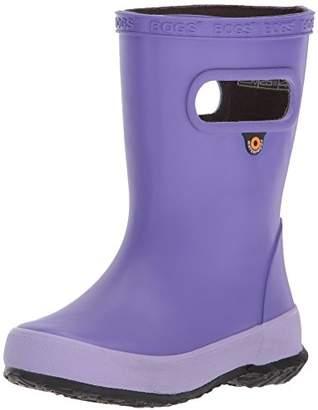 Bogs Skipper Kids Waterproof Rubber Rain Boot for Boys and Girls
