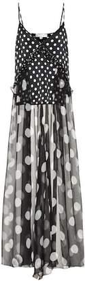 Caroline Constas Ainsley stretch-silk longline camisole
