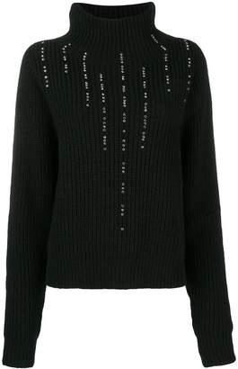 Pinko Relief embellished jumper