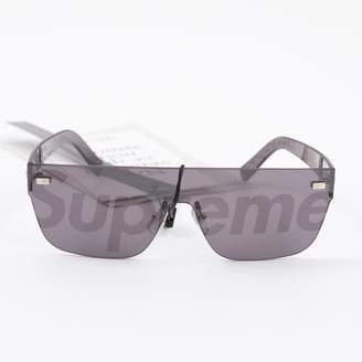 Louis Vuitton X Supreme Black Plastic Sunglasses