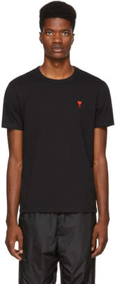 Ami Alexandre Mattiussi Black Heart T-Shirt