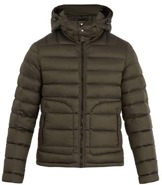 49 Winters - Sloane Detachable Hood Quilted Down Jacket - Mens - Khaki