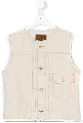 Bellerose Kids denim gilet