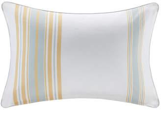 "Madison Home USA Newport 14"" x 20"" Printed Stripe 3M Scotch Gard Outdoor Oblong Pillow"