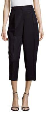 Lafayette 148 New York Rivington Wide-Leg Cropped Pants