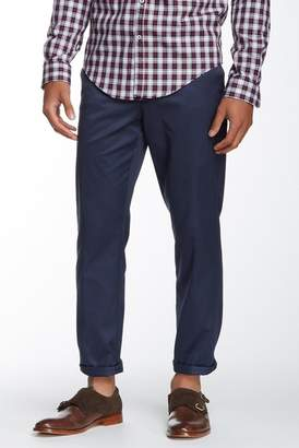 Louis Raphael Slim Fit Flat Front Landon Pants