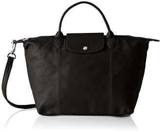 Longchamp Women Handbag Black Size: