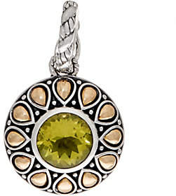 JAI Sterling Silver & 14K Gold Gemstone LotusPetal Enhancer